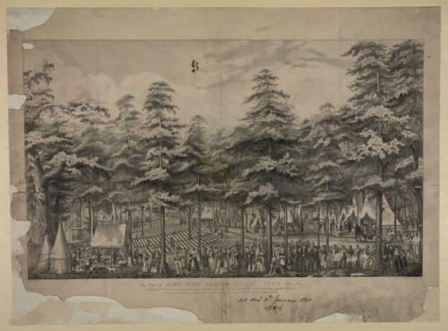 Sing Sing Camp Meeting 1858