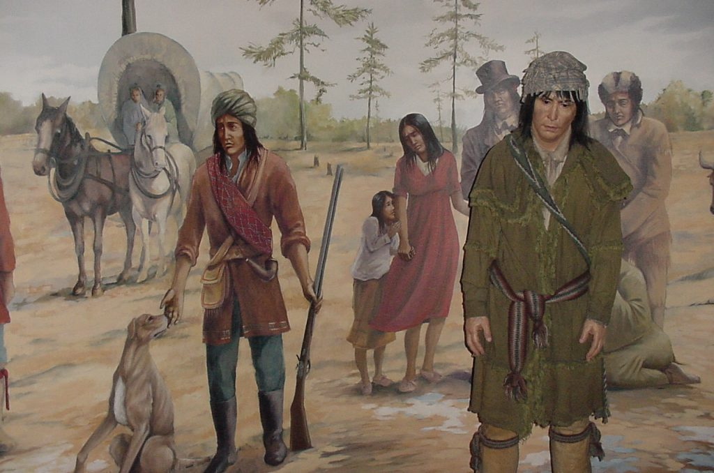 Painting of Trail of Tears