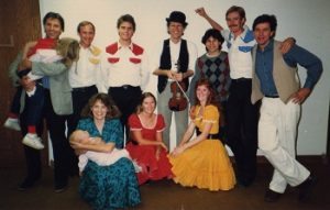 The Green Grass Cloggers, 1987