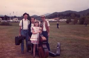 The Dietz family in Robbinsville, 1984