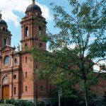 Exterior of the basilica.